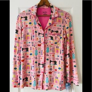 🌟NWT!🌟 Nick & Nora | sewing theme pj top